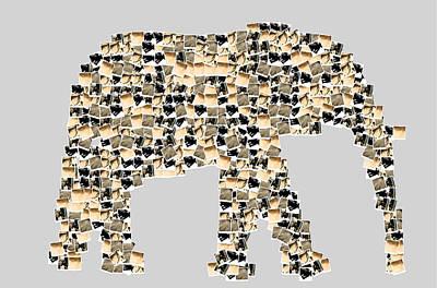 Shower Head Digital Art - The Elephant by Tommytechno Sweden