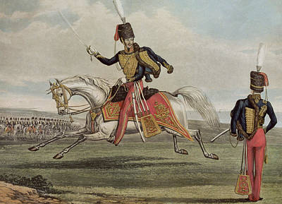 The Eleventh Hussars Art Print by J Earp