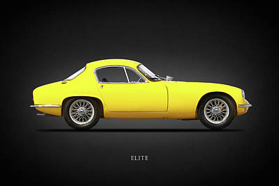 Classic Lotus Photograph - The Elite by Mark Rogan