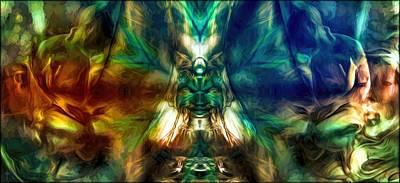 Mystic Digital Art - The Elixir Of Life  by Daniel  Arrhakis