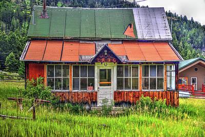 Photograph - The Elk Horn House by Richard J Cassato