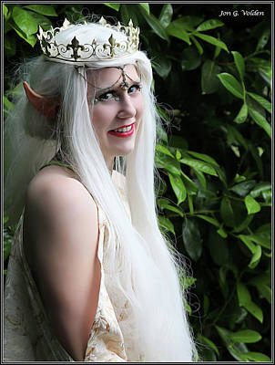 Photograph - The Elven Queen by Jon Volden