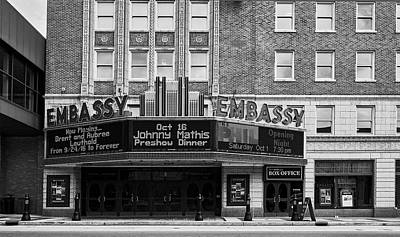 Photograph - The Embassy Theater by L O C