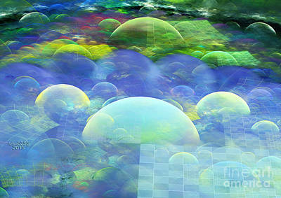 Digital Art - The Emerald City by Melissa Messick