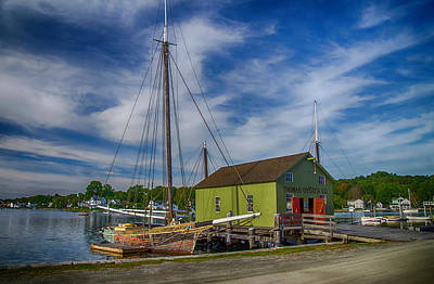 Photograph - The Emma C. Berry, Mystic Seaport Museum by Dutch Ducharme