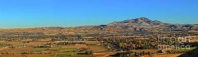 Photograph - The Emmett Valley by Robert Bales