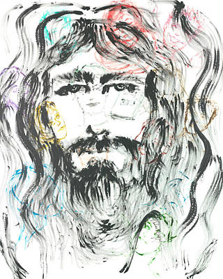 The Emotions Of Jesus Art Print by Nadine Rippelmeyer