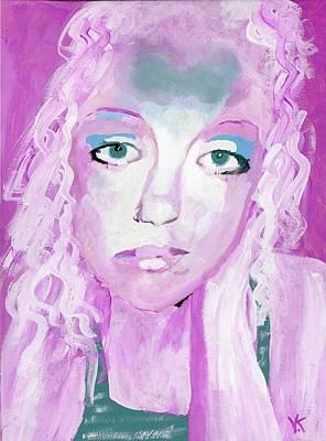 Warrioress Painting - The Empath by Vennie Kocsis