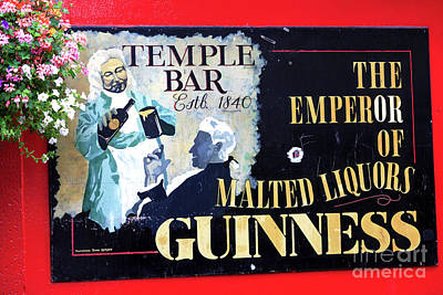 Of Artist Photograph - The Emperor Of Malted Liquors by John Rizzuto
