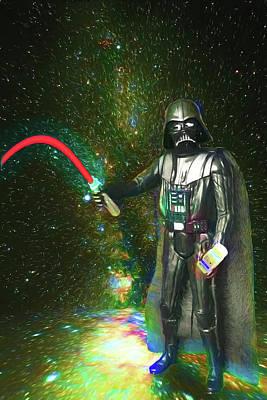 Digital Art - The Empire Goes Limp by John Haldane