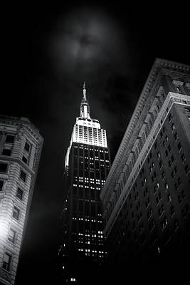 Photograph - The Empire State Building by Mark Andrew Thomas