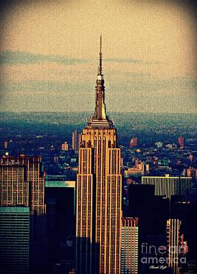 Photograph - The Empire State Building by Sarah Loft
