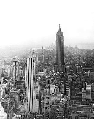 Empire State Photograph - The Empire State Building by Underwood & Underwood