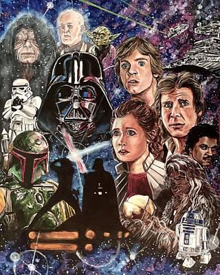 The Empire Strikes Back Original by Joel Tesch
