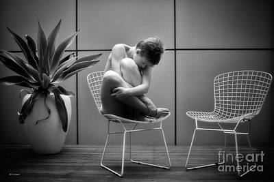 Artistic Nude Photograph - The Empty Chair by Brian  Connor