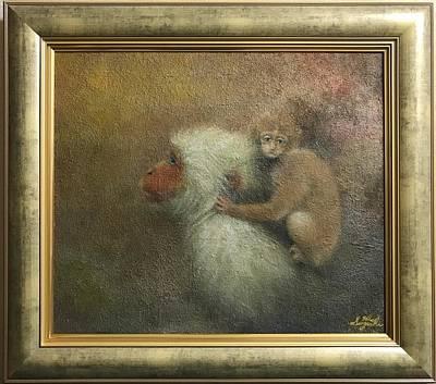 Animals Painting - The Empty Sky by Hiroyuki Suzuki