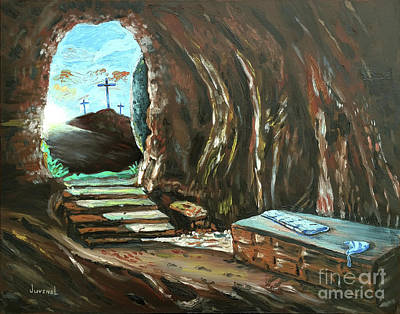Painting - The Empty Tomb by Joseph Juvenal
