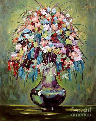 Painting - The Empty Vase by Milagros Palmieri