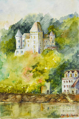 Painting - The Enchanted Castle by Madie Horne