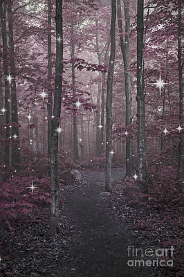 Manipulation Photograph - The Enchanted Forest... by Nina Stavlund