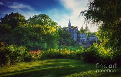 Photograph - The Enchanted Land - Central Park In Summer by Miriam Danar