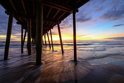 Photograph - The Enchanted Pier by Michael Scott