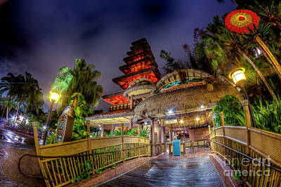 Photograph - The Enchanted Tiki Room by Luis Garcia