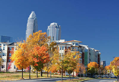 Photograph - The Enclave Apartments In Charlotte by Jill Lang