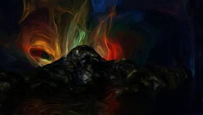 Digital Art - The End by David Lane