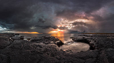 Photograph - The End Of Days by Sigurdur William Brynjarsson