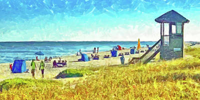 Digital Art - The End Of Summer by Digital Photographic Arts