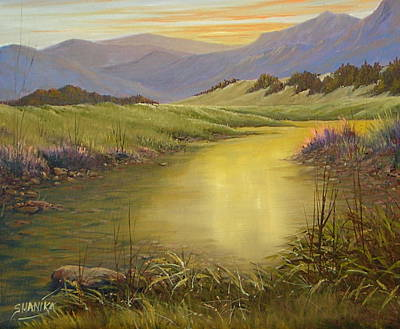 The End Of The Day 070714-79 Art Print by Kenneth Shanika