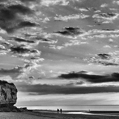 Norfolk Photograph - The End Of The Day, Old Hunstanton  by John Edwards