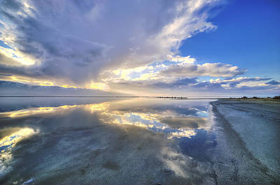Cloud Like Glass Photograph - The End Of The Dream by Doug Havens