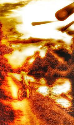 Digital Art - The End Of The World As We Know It by Isabella F Abbie Shores