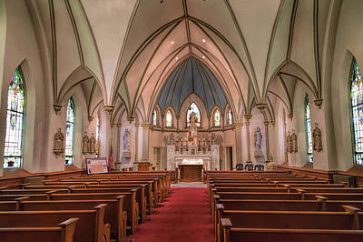 Photograph - The Enduring Church by John M Bailey