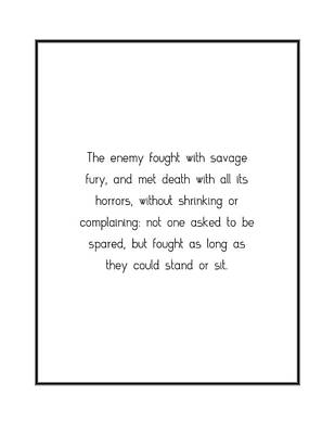 Digital Art - The Enemy Fought With Savage... by Famous Quotes