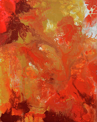 The Energy Of Autumn Art Print