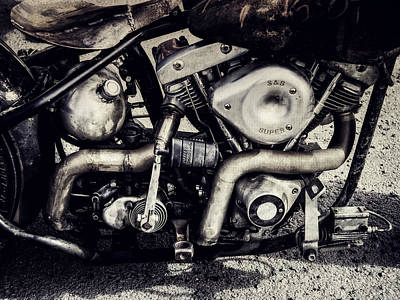 Photograph - The Engine by Ari Salmela