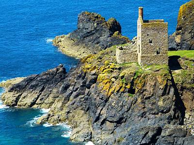 Photograph - The Engine House Botallack by Scenes of Cornwall