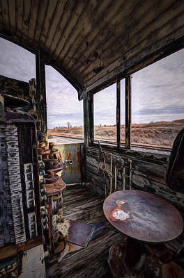 Painting - The Engineer's Seat by Joe Sparks