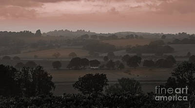 Photograph - The English Landscape by Perry Rodriguez