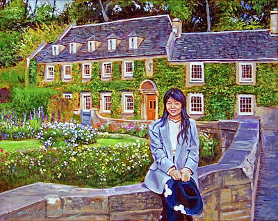 Painting - The English Tourist by David Lloyd Glover