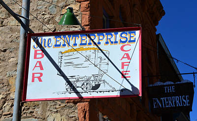 The Enterprise Rico Colorado Art Print by David Lee Thompson