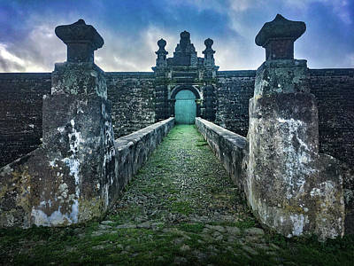 Photograph - The Entrance To Fortress Of Sao Joao Baptista On Monte Brasil by Kelly Hazel