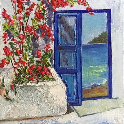 The Entrance To Paradise Art Print