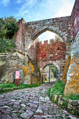 Photograph - The Entrance To The Monastery Of Escornalbou by Eduardo Jose Accorinti