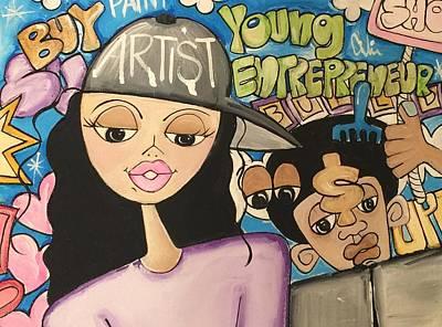The  Entrepreneurs Mural Art Print