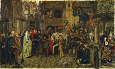 Rosen Painting - The Entry Of Sten Sture The Elder Into Stockholm by Georg von Rosen