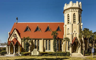 Photograph - The Episcopal Church Of Fernandina Beach by Paula Porterfield-Izzo